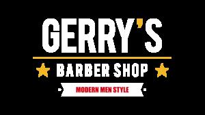 logo-gerrys-barber-shop-modern-style